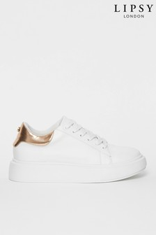Lipsy Flatform Lace Up Trainer