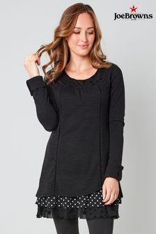 Joe Browns Touch Of Polka Dot Tunic