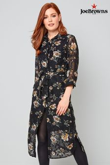 Joe Browns Winter Floral Shirt Dress