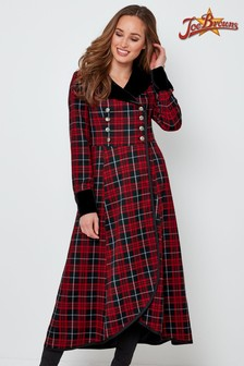 Joe Browns Fluid Check Dress Coat