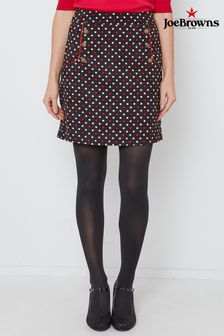Joe Browns Polka Dot Cord Skirt
