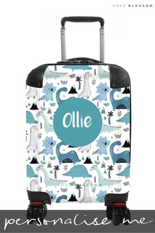 Personalised Dinosaur Land Kids Suitcase By Koko Blossom