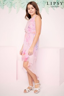 Lipsy Girl Chiffon Frill Dress