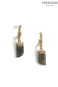 Freedom Horn Drop Earrings