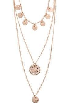 PILGRIM Arden Crystal Necklace