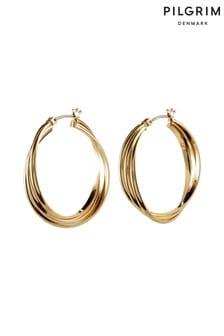 Pilgrim Plated Earrings
