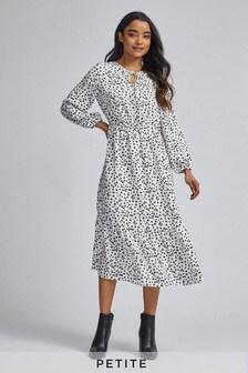 Dorothy Perkins Petite Ditsy Smock Midi Dress