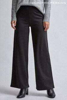 Dorothy Perkins Ponte Wide-Leg Trousers