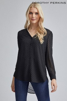 Dorothy Perkins Chiffon Long Line Shirt
