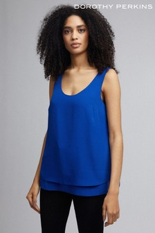 Dorothy Perkins Double Layer Sleeveless Top