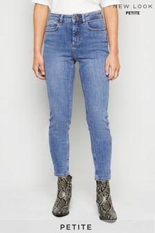 New Look Petite Mid-Rise Super Skinny Jeans