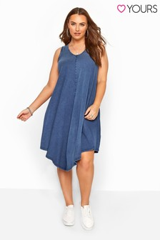 Yours Curve Sleeveless Swing Dress