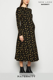 New Look Ditsy Empire Seam Dress