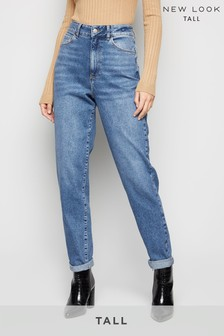 New Look Tall Waist Enhance Mom Jeans