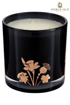 Noble Isle Fireside Glow Three Wick Candle - Mynwy Valley - Warming And Cosy