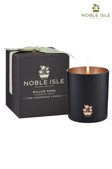 Noble Isle Willow Song Single Wick Candle - Lavenham Walk - Soft, Whimsical