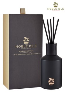 Noble Isle Golden Harvest Scented Reed Diffuser - Canterbury Vines -Aromatic And Musk
