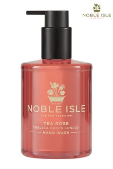 Noble Isle Tea Rose Luxury Hand Wash - Chelsea Green London - Gentle And Soothing