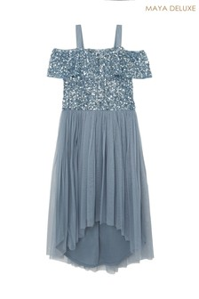Maya Girl Sequin Mini Dress