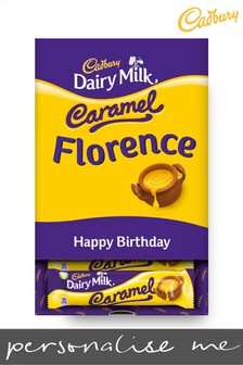Personalised Chocolate Cadbury Caramel Favourites Box By Yoodoo