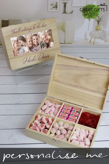 Personalised 6 Compart Mum Photo Sweets by Great Gifts