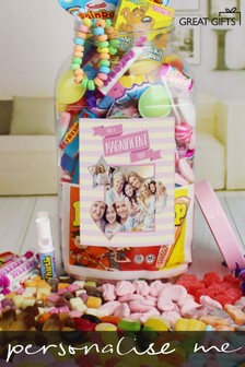 Personalised Magnificent Mum Large Photo Sweet Jar by Great Gifts