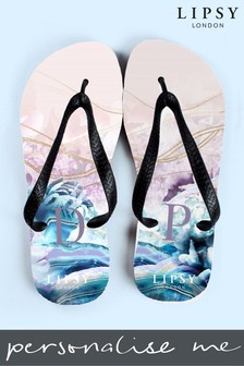 Personalised Lipsy Flip Flops By Treat Republic