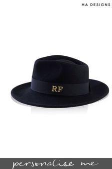 Personalised Felt Fedora Hat by HA Designs