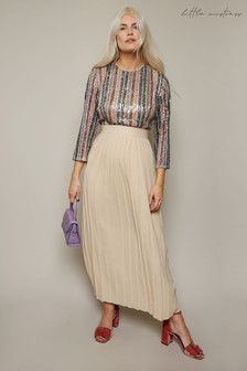 Little Mistress Spencer Sequin Stripe Dress