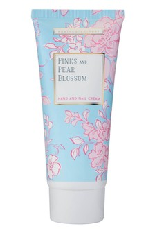 Heathcote & Ivory Florals Pinks & Pear Blossom Everyday Hand Cream with Vitamin E & Shea Butter