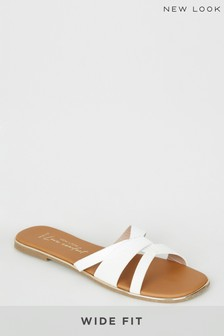 New Look Wide Fit Twist Front Sandal