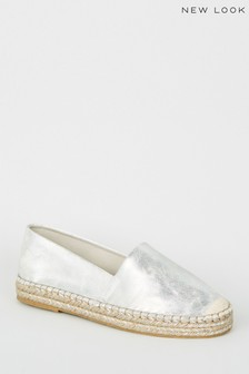 New Look Two-Part Toe Detail Espadrille