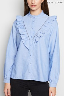 New Look Frill Shirt