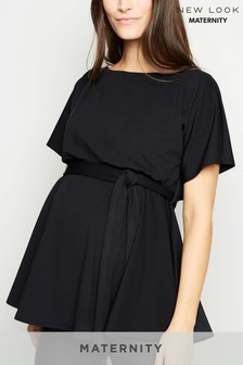 New Look Maternity Plain Batwing Top