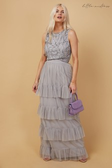 Little Mistress Ophelia Embellished Top Co Ord