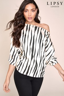 Lipsy Slash Neck Top