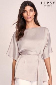 Lipsy Kimono Belted Top