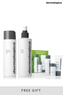 Dermalogica Cleansing and Toner Set With Gift