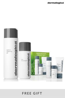 Dermalogica Cleansing and Daily Microfoliant Set With Gift