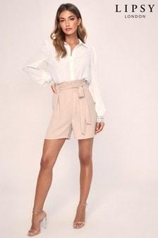 Lipsy Tie Waist Shorts