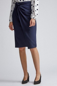 Dorothy PerkinsTwist Front Skirt