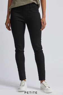 Dorothy Perkins Petite Black 'Eden' Jeggings