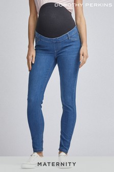 Dorothy Perkins Maternity Over Bump Denim Jeans