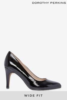 Dorothy Perkins Wide Fit 'Deedee' Court Shoes