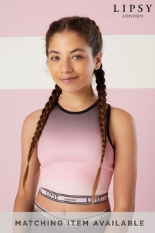 Lipsy Girl Active Crop Top
