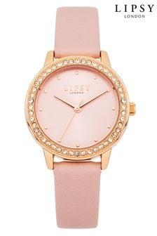 Lipsy Diamante Face Watch