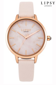 Lipsy Marble Face Watch