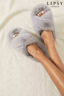 Lipsy Cross Strap Slipper