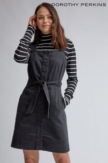 Dorothy Perkins Belted Pinny Dress