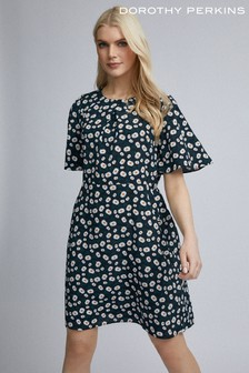 Dorothy Perkins Daisy Printed Belted Shift Dress